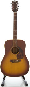 Musical Instruments:Acoustic Guitars, Circa 1969 Gibson J-45 Sunburst Acoustic Guitar, Serial #905150....