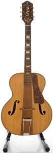 Musical Instruments:Acoustic Guitars, Circa 1950's Harmony Patrician Natural Archtop Acoustic Guitar...
