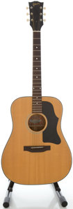 Musical Instruments:Acoustic Guitars, 1970's Gibson J-40 Natural Acoustic Guitar, Serial #D342249....