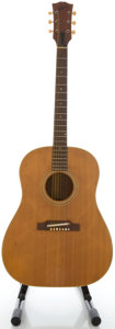 Musical Instruments:Acoustic Guitars, Circa 1965 Gibson J-50 Refinished Acoustic Guitar, Serial #805447....