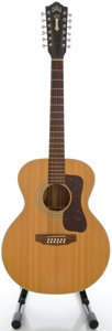 Musical Instruments:Acoustic Guitars, Circa 1975 Guild F-212 Natural 12 String Acoustic Guitar, Serial#121011....