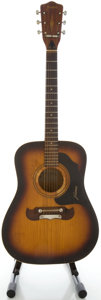 Musical Instruments:Acoustic Guitars, Circa 1960's Framus Texan Model Sunburst Acoustic Guitar, Serial #9820....