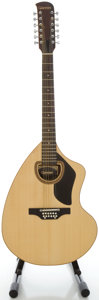 Musical Instruments:Acoustic Guitars, Circa 1977 Giannini AWNKS Natural 12 String Acoustic Guitar, Serial#71977....