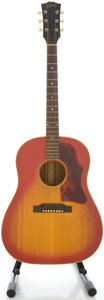 Musical Instruments:Acoustic Guitars, 1967 Gibson J-45 Cherryburst Acoustic Guitar, Serial 064080....