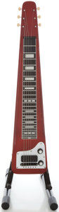 Musical Instruments:Lap Steel Guitars, Circa 1960's Rickenbacker Electro Trans Red Lap Steel Guitar,Serial #PA 012....