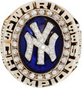 Baseball Collectibles:Others, 1998 New York Yankees World Championship Ring....