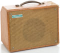 Musical Instruments:Amplifiers, PA, & Effects, 1950's Magnatone Brown Guitar Amplifier....