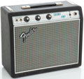 Musical Instruments:Amplifiers, PA, & Effects, Circa 1969 Fender Champ Silverface Guitar Amplifier, Serial#A12581....
