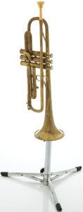 Musical Instruments:Horns & Wind Instruments, Circa 1947 The Martin Committee Brass Trumpet, #159800....