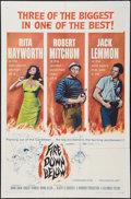 "Movie Posters:Adventure, Fire Down Below (Columbia, 1957). One Sheet (27"" X 41"").Adventure.. ..."