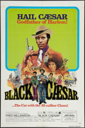 "Movie Posters:Blaxploitation, Black Caesar (American International, 1973). One Sheet (27"" X 41""). Blaxploitation.. ..."