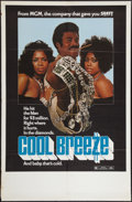 "Movie Posters:Blaxploitation, Cool Breeze (MGM, 1972). One Sheet (29.5"" X 45""). Blaxploitation....."