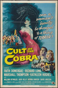 """Movie Posters:Horror, Cult of the Cobra (Universal International, 1955). One Sheet (27"""" X 41""""). Horror.. ..."""