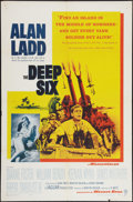 "Movie Posters:War, The Deep Six (Warner Brothers, 1958). One Sheet (27"" X 41""). War....."