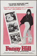"Movie Posters:Sexploitation, Fanny Hill (Cinemation Industries, 1969). One Sheet (27"" X 41"").Sexploitation.. ..."