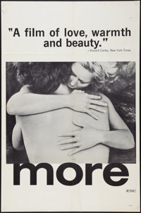 "More & Other Lot (Cinema 5, 1969). One Sheets (2) (27"" X 41"" & 27.75"" X 41.75""). Exp..."