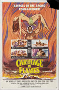 """Movie Posters:Exploitation, Carthage in Flames (Columbia, 1961). One Sheet (27"""" X 41""""). Exploitation.. ..."""