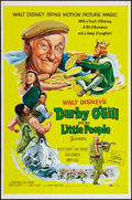 """Movie Posters:Fantasy, Darby O'Gill and the Little People (Buena Vista, 1959). One Sheet (27"""" X 41""""). Fantasy.. ..."""