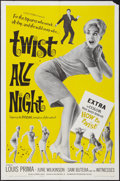 """Movie Posters:Rock and Roll, Twist All Night (American International, 1962). One Sheet (27"""" X 41""""). Rock and Roll.. ..."""