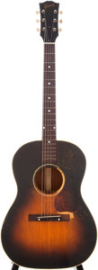 Musical Instruments:Acoustic Guitars, 1952 Gibson LG-2 Sunburst Acoustic Guitar, Serial # Z2111....