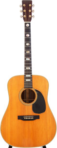 Musical Instruments:Acoustic Guitars, 1969 Martin D-28 Natural Acoustic Guitar, Serial # 249256....