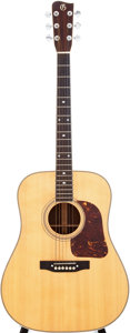 Musical Instruments:Acoustic Guitars, 1970s Gallagher G-70 Natural Acoustic Guitar, Serial # 515....