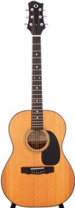 Musical Instruments:Acoustic Guitars, 1982 James Olson Natural Acoustic Guitar, Serial # 111....