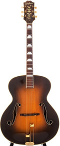 Musical Instruments:Acoustic Guitars, 1946 Epiphone Deluxe Sunburst Archtop Acoustic Guitar, Serial # 55559....