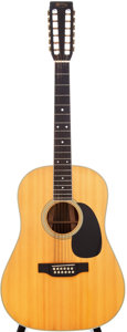 Musical Instruments:Acoustic Guitars, 1987 Martin D-12-35 Natural 12 String Acoustic Guitar, Serial #472276....