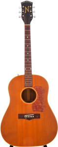 Musical Instruments:Acoustic Guitars, 1954 National N-66/1155 Natural Acoustic Guitar, Serial # X41680....
