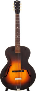 Musical Instruments:Acoustic Guitars, 1935 Gibson L-50 Sunburst Archtop Acoustic Guitar, Serial # 273A....