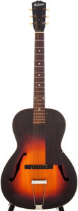Musical Instruments:Acoustic Guitars, Late 1930s Gibson L-37 Sunburst Archtop Acoustic Guitar....
