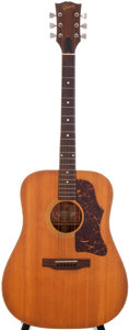Musical Instruments:Acoustic Guitars, 1970 Gibson J-50 Deluxe Natural Acoustic Guitar, Serial #A060128....