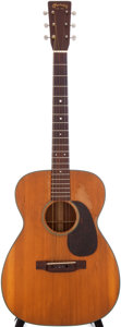 Musical Instruments:Acoustic Guitars, 1947 Martin 00-18 Natural Acoustic Guitar, Serial # 99495....