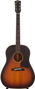 Musical Instruments:Acoustic Guitars, 1959 Gibson J-45 Sunburst Acoustic Guitar, Serial # S1319....