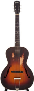 Musical Instruments:Acoustic Guitars, 1930s Gibson L-37 Sunburst Archtop Acoustic Guitar, Serial #604B-32....