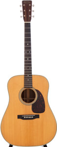 Musical Instruments:Acoustic Guitars, 1957 Martin D-28 Natural Acoustic Guitar, Serial # 157733....