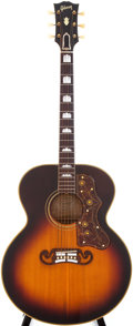 Musical Instruments:Acoustic Guitars, 1952 Gibson SJ-200 Sunburst Acoustic Guitar, Serial # A11084....