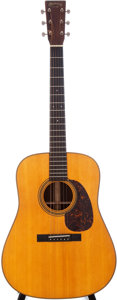 Musical Instruments:Acoustic Guitars, 2009 Martin D-21 Special Natural Acoustic Guitar, Serial #1337803....