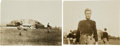 "Hockey Collectibles:Photos, 1913 Hobey Baker Original ""Culver"" Photographs Lot of 2...."