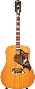 Musical Instruments:Acoustic Guitars, Mid-1960s Gibson Dove Natural Acoustic Guitar, Serial # 519489....