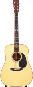 Musical Instruments:Acoustic Guitars, 1990 Martin HD-28P Natural Acoustic Guitar, Serial # 500114....