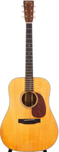 Musical Instruments:Acoustic Guitars, 1940 Martin D-18 Natural Acoustic Guitar, Serial # 70641....