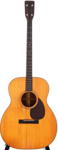 Musical Instruments:Acoustic Guitars, 1930 Martin 0-18T Natural Acoustic Guitar, Serial # 42401....