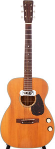 Musical Instruments:Acoustic Guitars, 1959 Martin 00-18E Natural Acoustic Electric Guitar, Serial #167991....