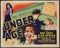 "Movie Posters:Exploitation, Under Age (Columbia, 1941). Title Lobby Card (11"" X 14"").Exploitation.. ..."