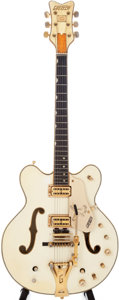 Musical Instruments:Electric Guitars, 1969 Gretsch White Falcon White Semi-Hollow Electric Guitar, Serial# 59201....