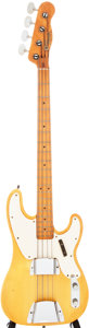 Musical Instruments:Bass Guitars, 1968 Fender Telecaster Bass Blonde Electric Bass Guitar, Serial # 216962....