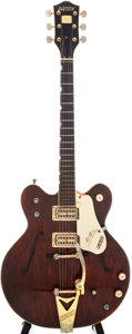 Musical Instruments:Electric Guitars, 1970 Gretsch Country Gentleman Walnut Semi-Hollow Electric Guitar,Serial # 2 081....