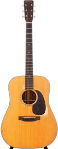 Musical Instruments:Acoustic Guitars, 1961 Martin D-18 Natural Acoustic Guitar, Serial # 178538....